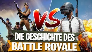FORTNITE VS PUBG | The history of the Battle Royale genre!