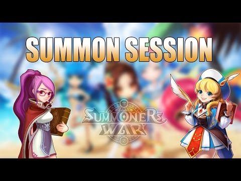 Summoners war-Summon Session Electric King