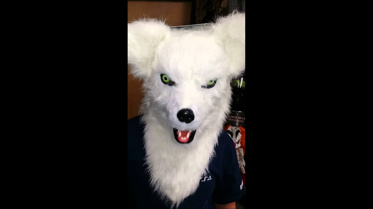 Moving Mouth Fox Mask - YouTube