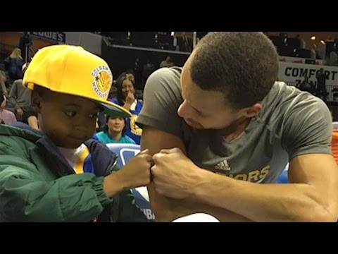 Steph Curry Grants Fan with Cancer His Dying Wish, Coach Kerr Says He's Better Than Michael Jordan