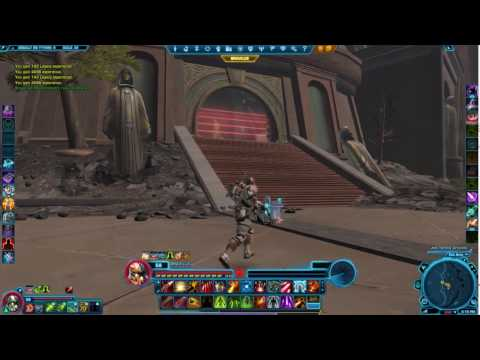 Swtor- Commando Trooper gameplay-Assault on Tython(solo)