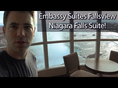 Niagara Falls Winter 2020 - Embassy Suites Falls View Suite!