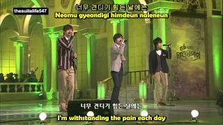 SS501 - Because I'm Stupid [Open Concert] (09.01.03) {Hangul, Romanization, Eng Sub}