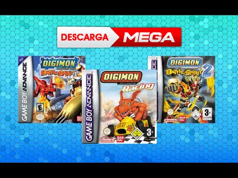 Pack Roms Digimon Gba Espanol Mega Pc Android Youtube