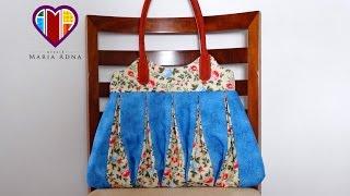 Bolsa em patchwork Amy – Bolsa em tecido