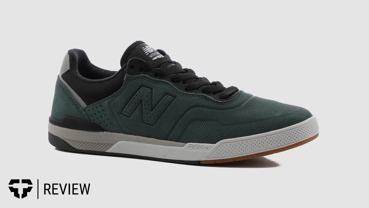 385a3ed92ede7 New Balance 913 Skate Shoe Review- Tactics - YouTube
