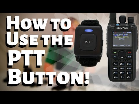 How to Use the PTT Button on an AnyTone AT-D878UV PLUS