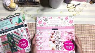 New Hot Buy CHRISTMAS Paper Pad from Michael's Craft Store - Papercraft Haul Video