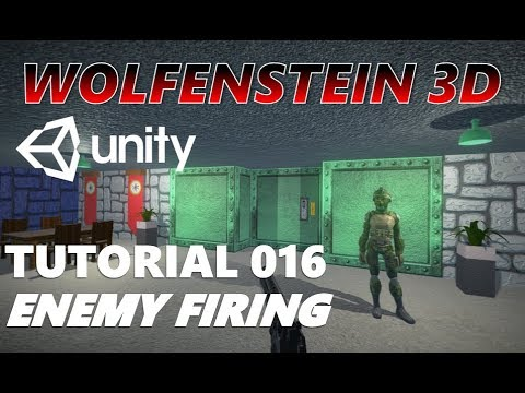 How To Make An FPS WOLFENSTEIN 3D Game Unity Tutorial 016 - ENEMY MECHANICS thumbnail