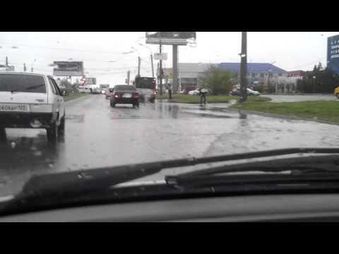 Потоп в Ставрополе и таксист танцор