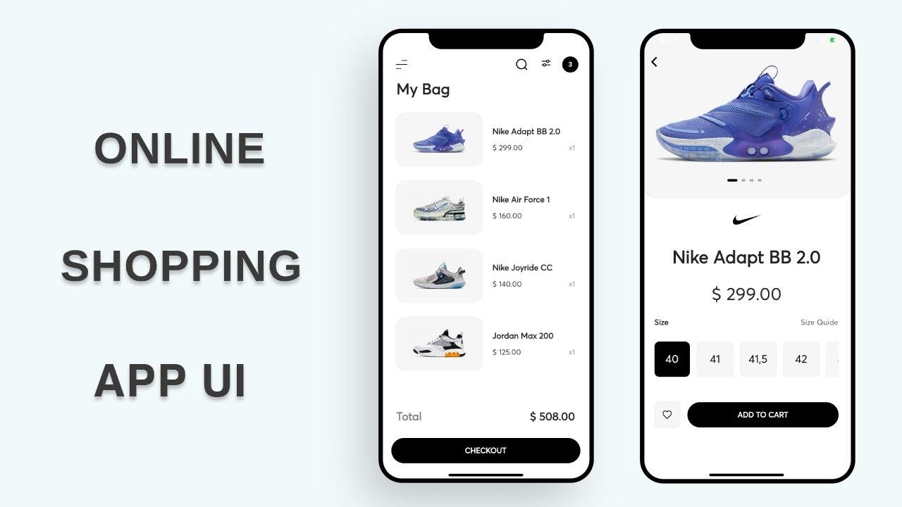 Flutter UI - Fresh E-commerce - Shoes Online App UI - Speed Code