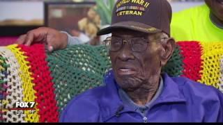Austinite Richard Overton, 'Nation's Oldest Veteran' needs help | 12/2016