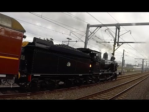 Australia: Sydney's Great Steam Train Race 2017 (GoPro version)