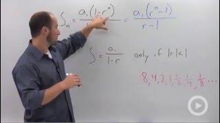 Algebra 2 - Geometric Series