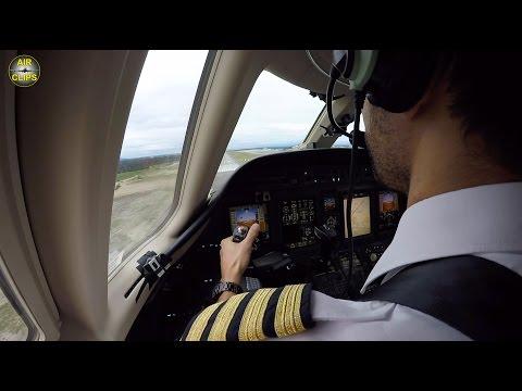 "Hahn Air Citation Sovereign Jet Landing in Goose Bay, ""Benny-Shoulder-Views""! [AirClips]"