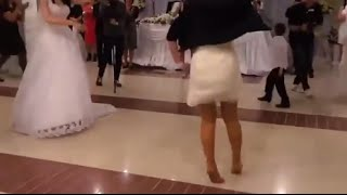 азербайджанский девушка на свадьбе Супер Лезгинка 2015