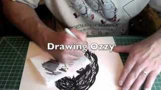 Drawing Ozzy 2