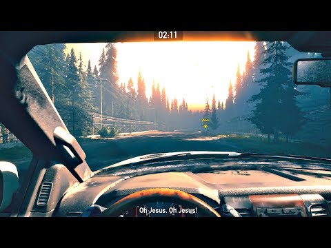 FAR CRY 5 - EPIC Nuclear Explosion & Driving To Bunker While NUKES Explode