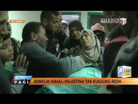 Konflik Israel-Palestina Tak Kunjung Reda