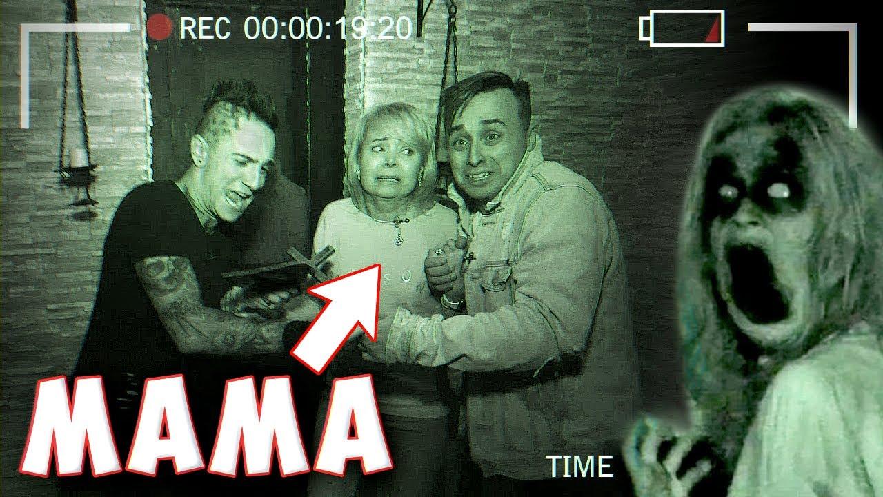 Ночь в страшном подвале с МАМОЙ! **Реальный Призрак**