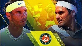 Nadal và Federer cuộc chiến kinh điển tại Pháp mở rộng | Nadal vs Federer in Roland-Garros
