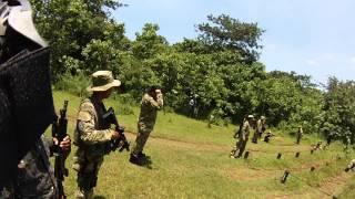 TAC Obstacle Training at PUSDIKPURLAT BRIMOB Watukosek Jawa Timur