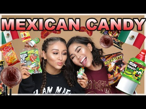 TRYING MEXICAN CANDY | Roxette Arisa