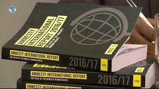 Amesty highlights abuses in Africa in annual report