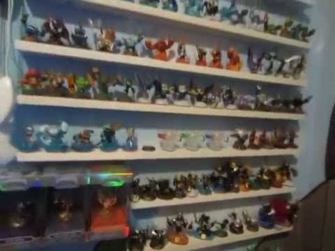 Charmant The Ultimate SKYLANDERS Bedroom And Collection   YouTube