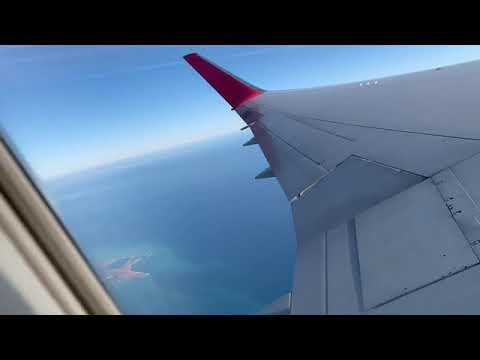 Air Canada Rouge Take Off And Landing From Toronto Ontario Canada To Orlando Florida United States