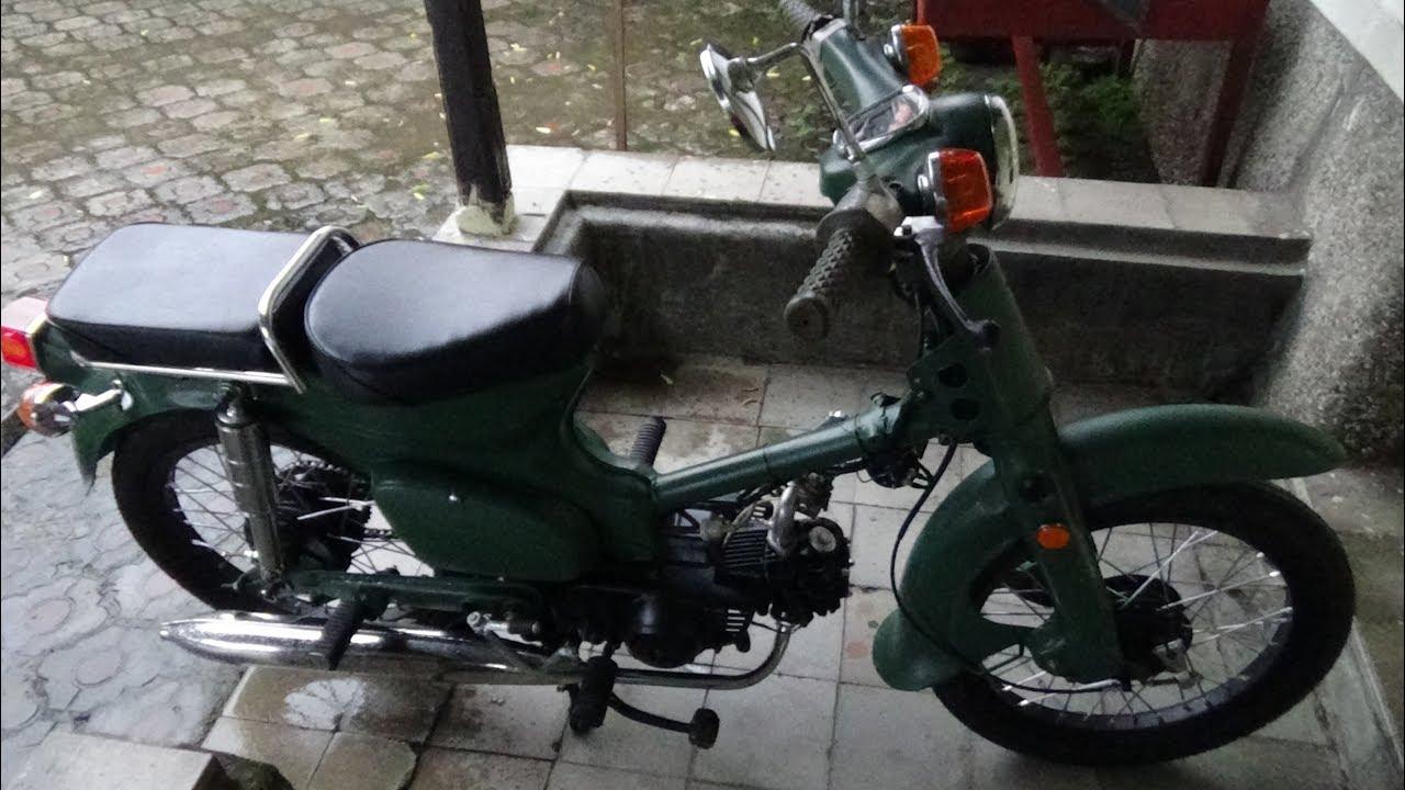 Gambar Modifikasi Sepeda Motor Jadul Modifikasi Unik Dan Menarik Sepeda Motor Antik Honda 70 Youtube