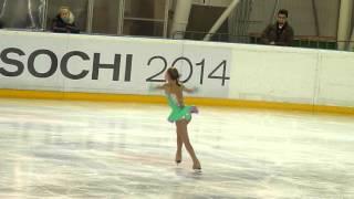 Юлия Липницкая, КП, V этап Кубка Росии 2010