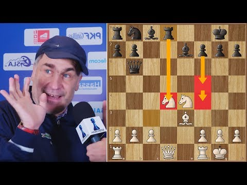 I Was So Happy! || Amazing Game and Interview With Vassily Ivanchuk || #gibchess || Round 9