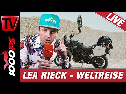 Eine Frau - 90.000km Weltreise am Motorrad - Sag dem Abenteuer ich komme mit Lea Rieck