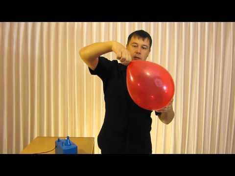 Как надувать шары
