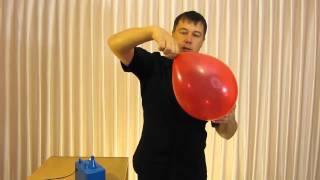 видео Как надуть фольгированный шар дома: способы и нюансы