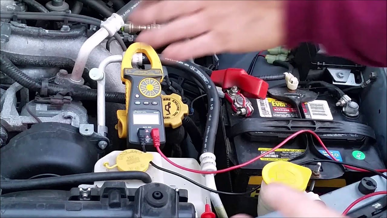 hight resolution of how to test an alternator