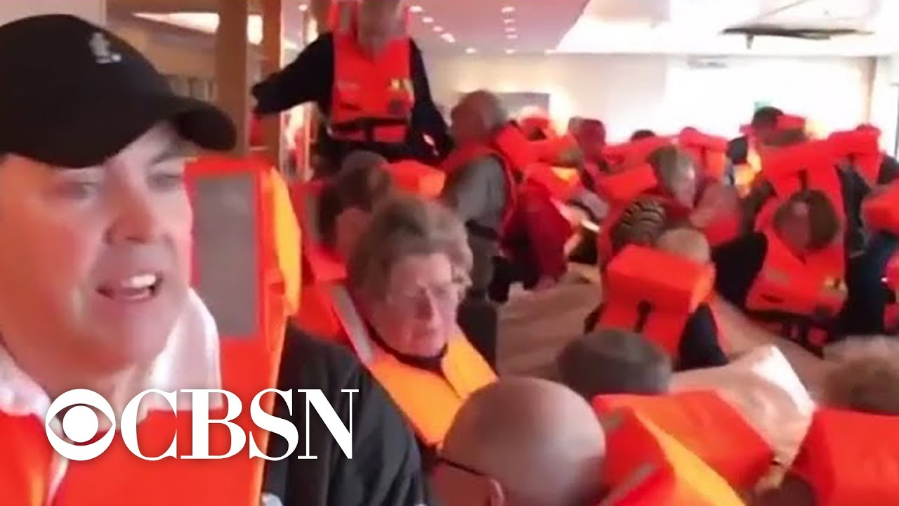 Hundreds evacuated from cruise ship in Norway