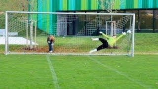 TOP 10 | Best Goalkeeper Saves - THE Football Battle (2011)