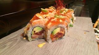 Japanese Sushi Recipe - Modern Sushi-  Sake Roll (Salmon Roll)
