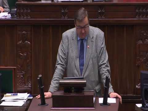 Szymon Giżyński – wystąpienie z 22 listopada 2017 r.