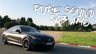 MERCEDES-AMG C63 COUPE (2019) PURE SOUND! REVS! CRACKLES! ACCELERATIONS!