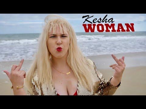 KESHA - Woman (Concept Video) Glitter Squad