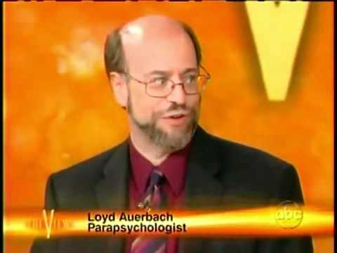 Loyd Auerbach on TV show The View.