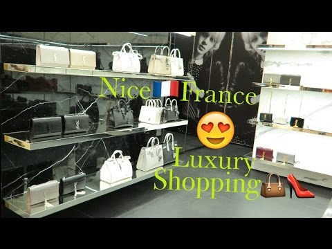VLOG | Luxury Shopping In Nice France | Côte d'Azur
