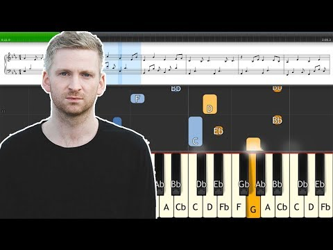 Saman (Ólafur Arnalds) Piano Tutorial Synthesia + Sheet Music