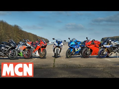 MCN 2017 Superbike Shootout | Road Test | Motorcyclenews.com