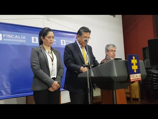 Declaraciones Fiscal General de la Nación caso Ex alcaldesa Luz Piedad Valencia Franco