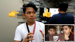 PAOLO TOMENES VLOG *REACTION VIDEO* nagulat kame