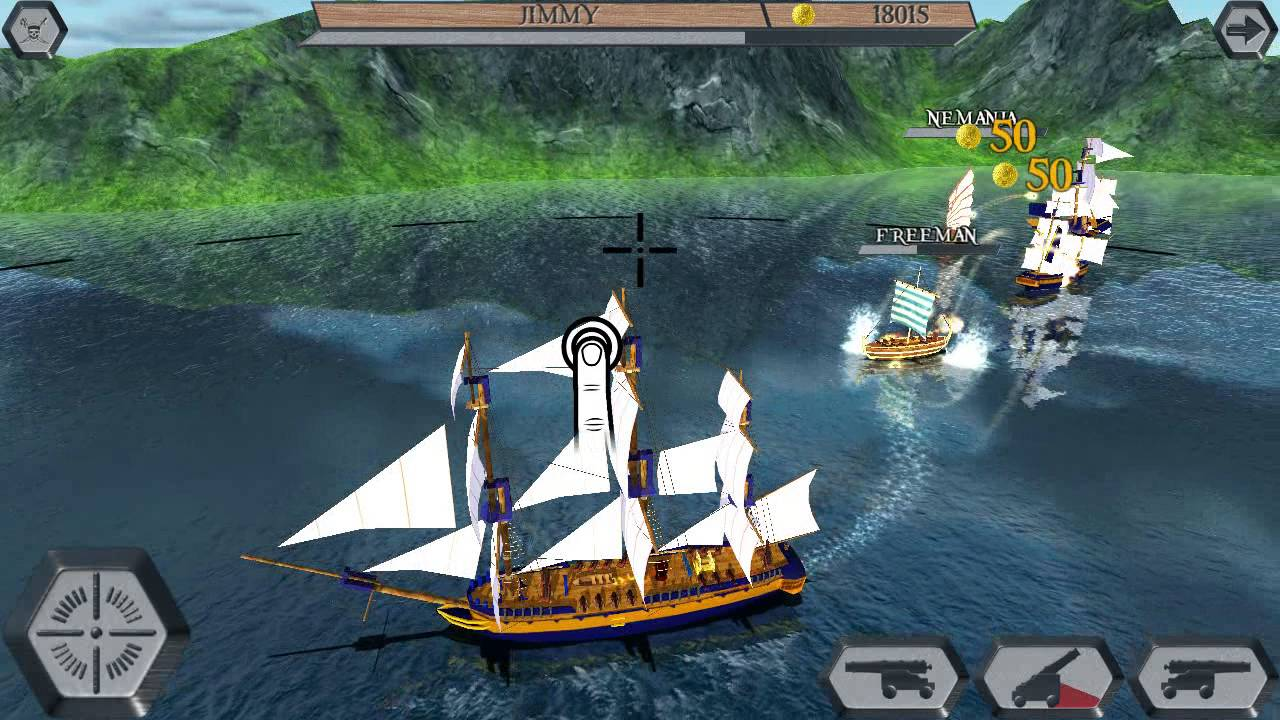 World Of Pirate Ships game play